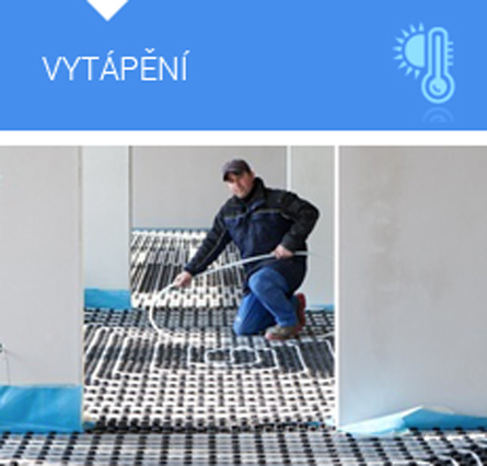 CHLAZEN� VLK: tepeln� �erpadla, podlahov� vyt�p�n�, klimatizace, plynov� �erpadla, anhydrit